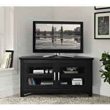 Black Corner Tv Cabinet With Doors Built In Corner Tv Cabinet Counter Refinished Cabinet Custom