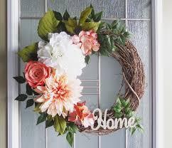 door wreaths items similar to floral wreaths wreaths front door wreaths