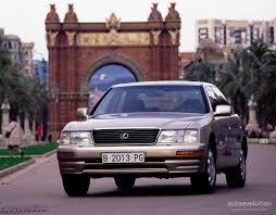 lexus ls trunk space lexus ls specs 1995 1996 1997 autoevolution