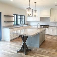 kitchen island with trestle base kitchen trestle base island