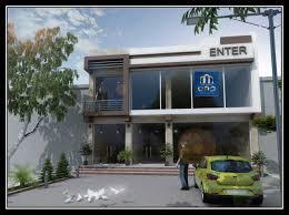 design in style hi tech in tashkent company unique arh project