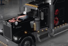 2016 kenworth w900 kenworth w900 skull skin american truck simulator mod ats mod