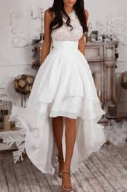 high low white prom dress homecoming dress evening u0026 prom
