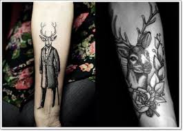 22 deer tattoo design with meaning