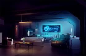 near future interior scifi concept art by shaunsherman deviantart