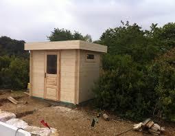 modele jardin contemporain abris de jardin et chalets en bois à toit plat 4 à 16 m amexdeco