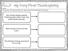 activities for reading comprehension thanksgiving reading passages