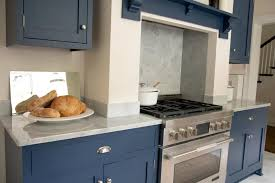 gray kitchen cabinets with white marble countertops contemporary white kitchen with blue cabinets and gray