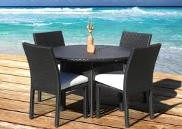 Outdoor Resin Wicker Furniture by 5pc Dining Table Set I Order Now I Mangohome