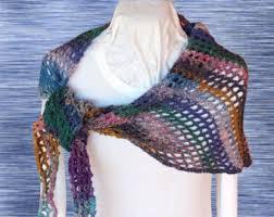 Trellis Scarf Crochet Scarf Pattern Lariat Style Crochet Scarf Design