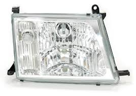 right hand headlamp with clear lens land cruiser 100 series