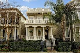 Front Porches On Colonial Homes Mardis Gras Never Ends In These 10 French Colonial Homes Build
