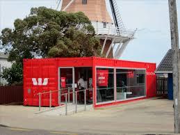 bureau container conteneur commercial pour bureau westpac mobile bank branch