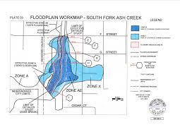 Firmette Maps South Fork Ash Creek Floodplain Revision The City Of