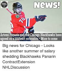 Chicago Blackhawks Memes - news nhl discussion artemi panarin and the chicago blackhawks have