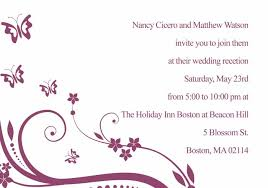 Wedding Reception Card Swarms Of Butterfly Wedding Invitation Inf057 Inf057 0 00