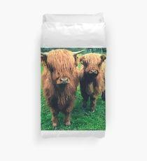 Cow Duvet Cover Highland Cow Duvet Covers Redbubble