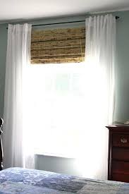 White Bamboo Curtains Bamboo Window Curtains Woven Waterfall Shades Custom