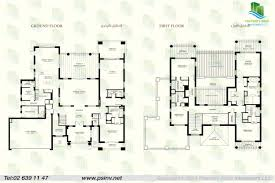 5 bedroom villa type b unit floor plan st regis villas st regis