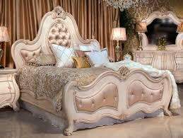 Aico Furniture Outlet Monte Carlo Silver Snow Bedroom Set Aico Michael Amini Furniture
