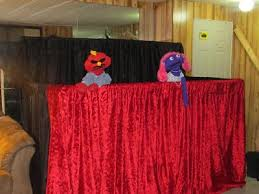 Stage With Curtains Puppet Stage Tyzie Com Tyler U0026 Mackenzie U0027s Creations