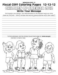 fiscal cliff coloring book pages free online coloring pages