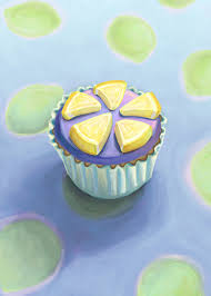 martini cupcake food illustrations by karyn servin at coroflot com