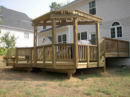 Deck Plans With Pergola by Corner Pergola Designs Deck Beautiful Corner Pergola Designs