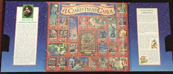 charles dickens a christmas carol story book set u0026 advent