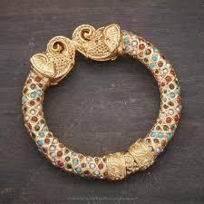 bangle bracelet color gold plated images Gold plated multi color kundan kada bangle bangle indian jpg