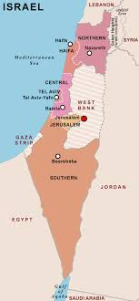 political map of israel israel political map political map of israel political israel