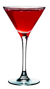 martini bacardi red rose martini drink of the week