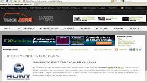 liquidacion de impuesto vehicular funza consultar runt por placa colombia youtube