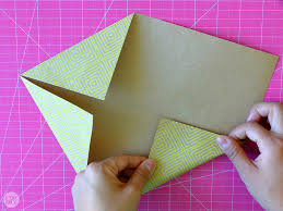 Origami With Letter Size Paper - how to fold a letter into a pull tab note i try diy
