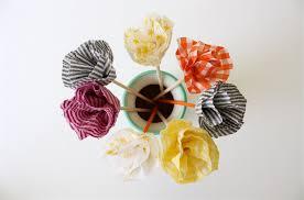 Fabric Flowers Tutorial No Sew Flowers U2013 Made Everyday