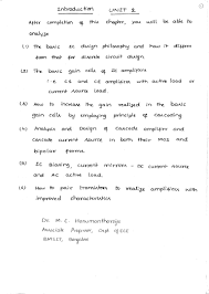 microelectronic circuits notes 10ec63 by dr m c hanumantharaju o u2026