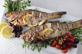 Fish Mediterranean Style Greek Style Roasted Fish My Delicious Blog