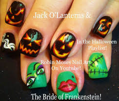 nail art phenomenal halloween nailt photo inspirations