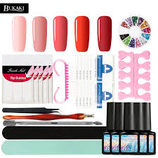 aliexpress com buy bukaki choose 5 pcs one step gel nail polish