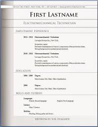 Free Templates For Resumes The 25 Best Resume Format Free Ideas On