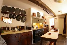 old kitchen design early kitchen exposed beam pewter wood counter tops home