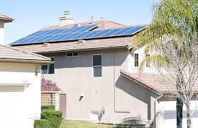 outside of the house ugly solar voltaic installations