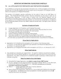 Paramedic Resume Examples by Resume Firefighter Resume Templates