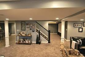basement renovation color schemes for basement walls warm paint
