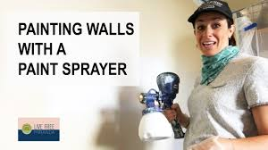 can you use a paint sprayer to paint kitchen cabinets painting walls with a paint sprayer