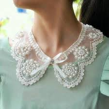 vintage lace collar necklace images Style inspiration lace collar wool skirts and inspiration jpg