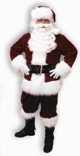 santa claus suits light weight velveteen santa claus suit at santa planet