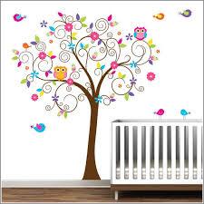 stickers arbre chambre enfant stickers arbre chambre bebe fille chambre id es de stickers