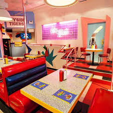 Restaurant Furniture Store Los Angeles Saved By The Bell Restaurant In Los Angeles Popsugar Food