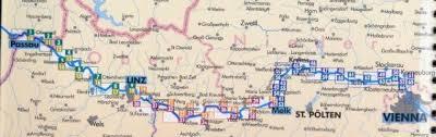 Passau Germany Map by Southern Traverse